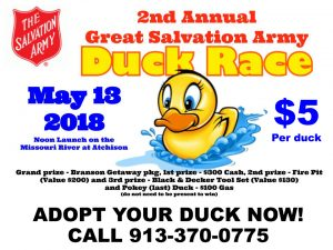 Great Salvation Army Duck Race